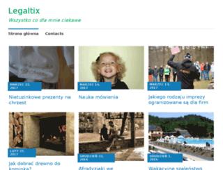 legaltix.pl screenshot