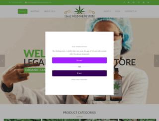 legalweedonlinestore.com screenshot