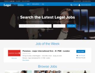 legalweekjobs.com screenshot
