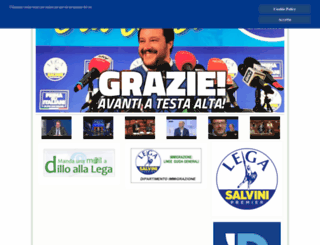 leganord.org screenshot