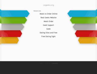 legeeks.org screenshot