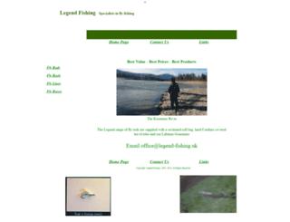 legend-fishing.uk screenshot