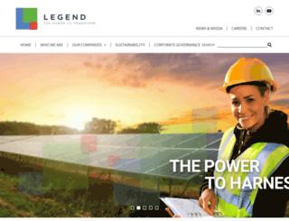 legend.com.au screenshot