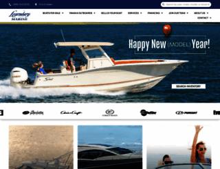 legendarymarine.com screenshot