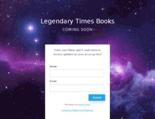 legendarytimesbooks.com screenshot