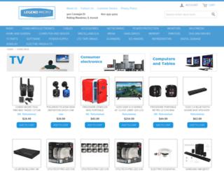 legendmicro.com screenshot