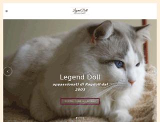 legendoll.it screenshot