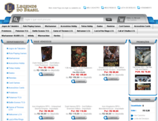 legendsdobrasil.com.br screenshot