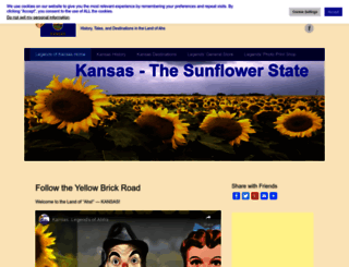 legendsofkansas.com screenshot
