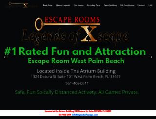 legendsofxscape.com screenshot