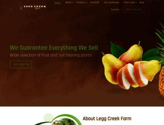 leggcreekfarm.com screenshot