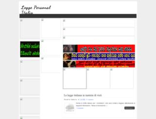 leggepersonalitalia.blogspot.ae screenshot