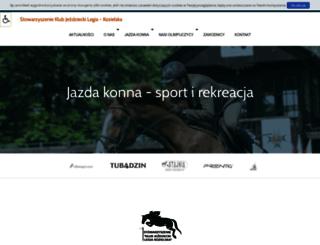 legia-kozielska.pl screenshot