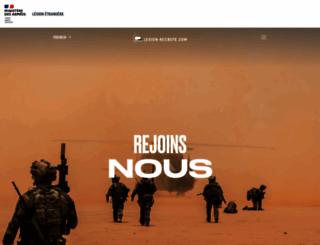 legion-recrute.com screenshot