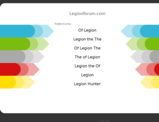 legionforum.com screenshot