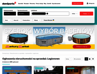 legionowo.domiporta.pl screenshot