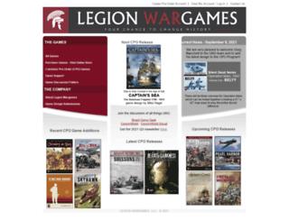 legionwargames.com screenshot
