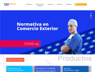 legiscomex.com screenshot