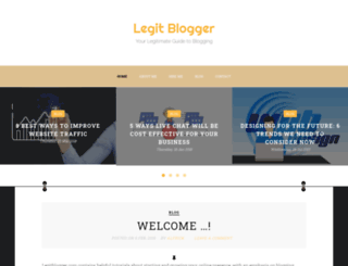 legitblogger.com screenshot