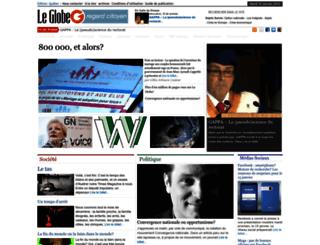 leglobe.ca screenshot