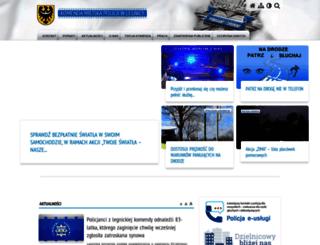 legnica.policja.gov.pl screenshot
