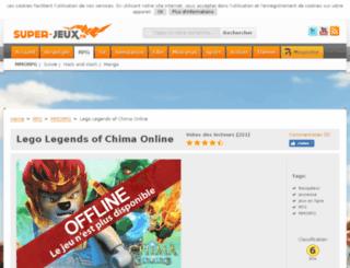 lego-legends-of-chima.browsergames.fr screenshot