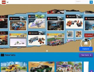 lego.co.za screenshot