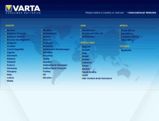 lego.varta-consumer.com screenshot