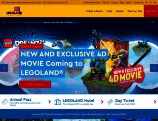 legoland.com.my screenshot