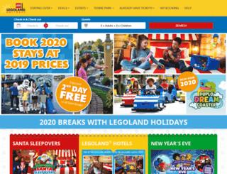 legoland.merlinbreaks.co.uk screenshot