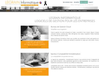 legrain.fr screenshot
