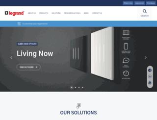 legrand.com.au screenshot
