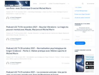 legrandchangement.com screenshot