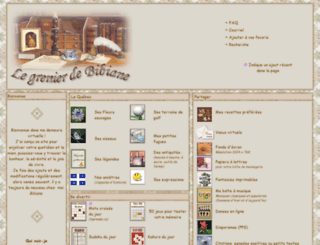 legrenierdebibiane.com screenshot
