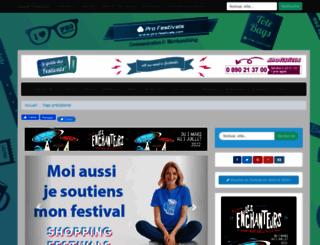 leguidedesfestivals.com screenshot
