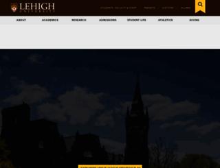 lehigh.edu screenshot