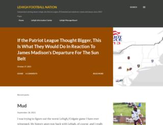 lehighfootballnation.blogspot.com screenshot
