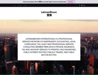 lehmanbrowncpa.com screenshot