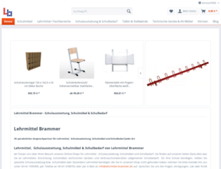 lehrmittel-brammer.de screenshot