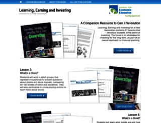 lei.councilforeconed.org screenshot