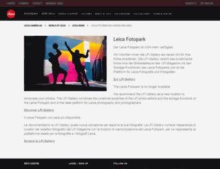leica-fotopark.com screenshot