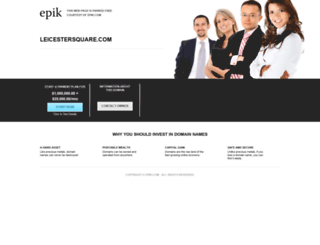 leicestersquare.com screenshot