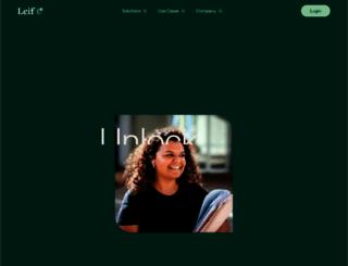 leif.org screenshot