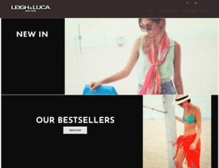 leighandluca.com screenshot