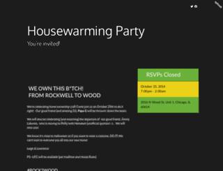 leighlawrenceshousewarming.splashthat.com screenshot