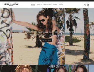 leighluca.com screenshot