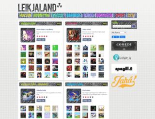 leikjaland.is screenshot