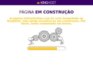 leiloesfreitas.com.br screenshot