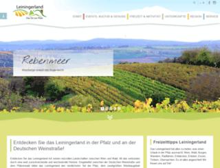 leininger-land.com screenshot