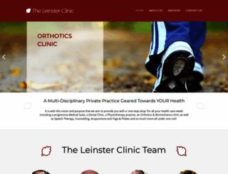 leinsterclinic.ie screenshot